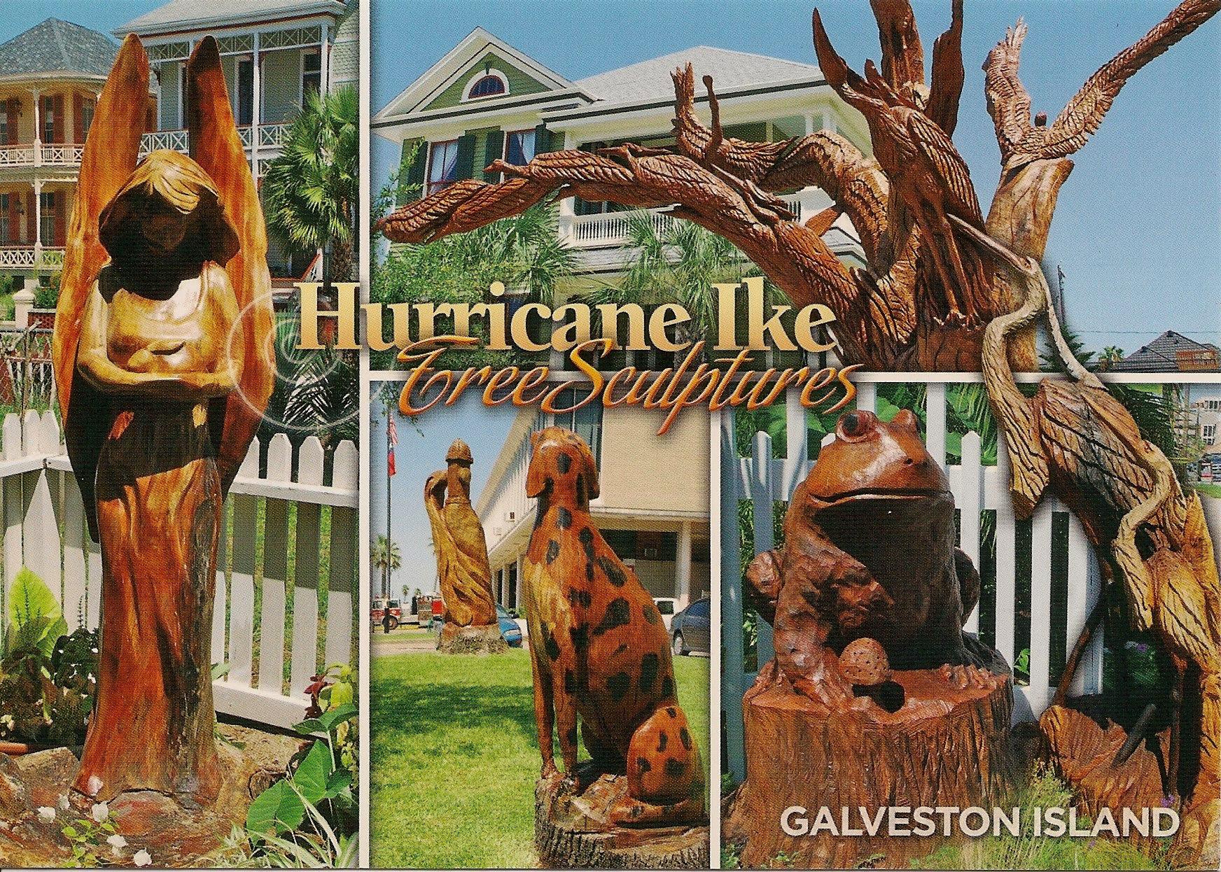 Hurricane Ike Tree Sculptures