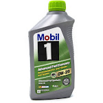 1 96995 Synthetic 0W-20 Motor Oil - 1 Quart Case of 6 by Mobil