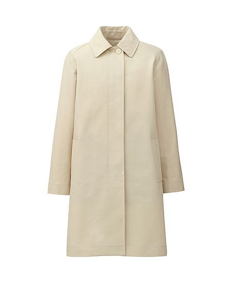 Hidenori Kumakiri for Uniqlo DIP Cotton Coat