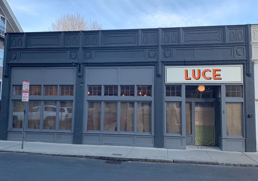 Luce prepares opening on Shepard Street, lighter without heat of wood-fired drama | Cambridge Day