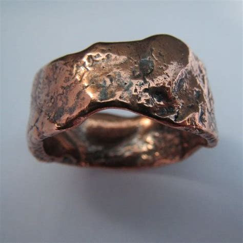 copper wedding band ideas  pinterest