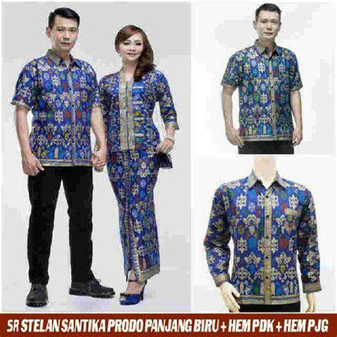 jual baju couple batik sarimbit kebaya jumbo xxl pasangan