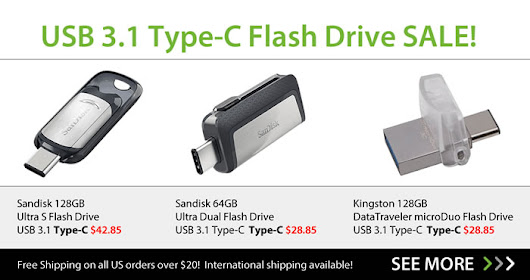 USB 3.1 Type C-1 on SALE!
