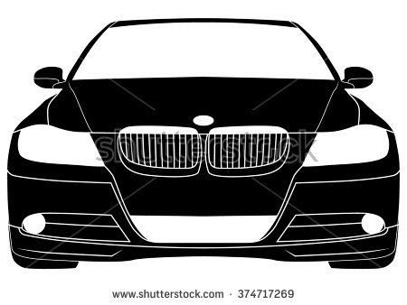 Bmw Silhouette Vector At Getdrawingscom Free For Personal Use Bmw