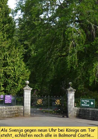 Svenja at Balmoral Castle