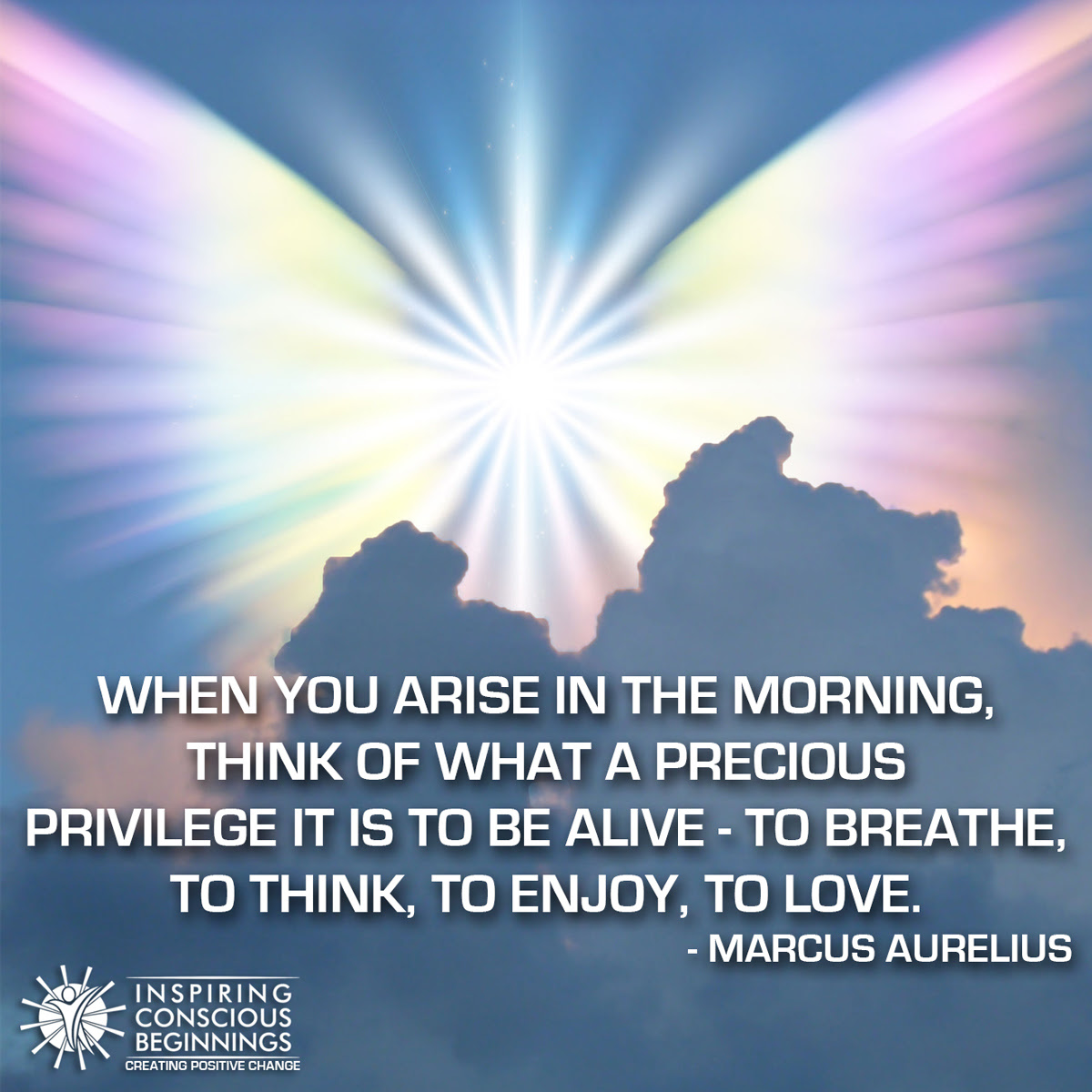 When You Arise In The Morning Inspiring Conscious Beginnings