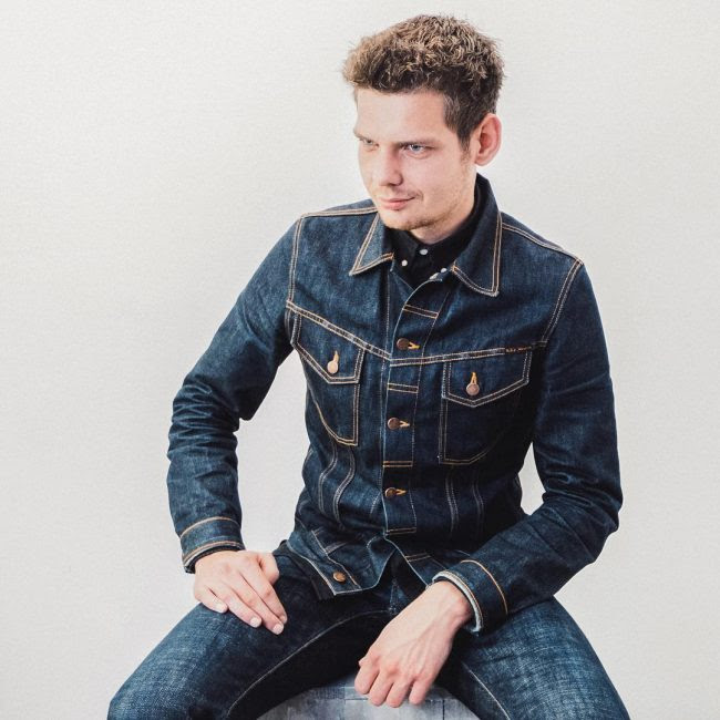 40 latest styles of men's denim jacket  sophistication at