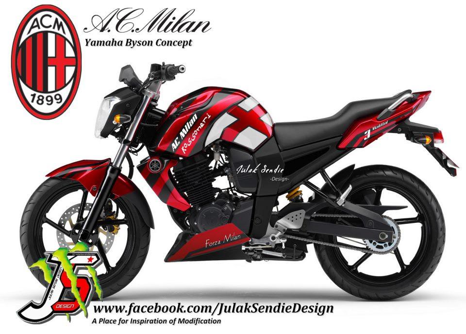 Gambar Modifikasi Motor Modifikasi Yamaha BYSON