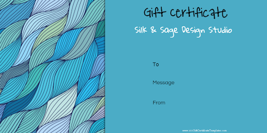 Gift Certificate (In-Store Use)