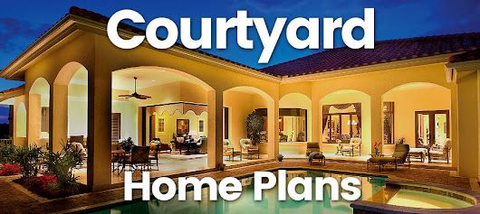 The sater group inc google for Courtyard entry house plans
