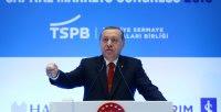 Presidente turco Erdogan durante su discurso en el Congreso en Estambul, Turquía. / REUTERS