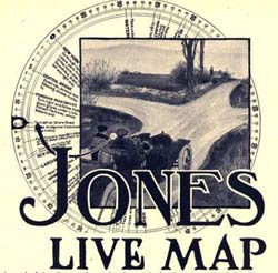 Jones Live Map