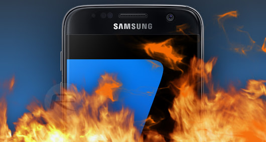 Yet Another Samsung Galaxy S7 Has Exploded, Gives Man Third-Degree Burns | Redmond Pie