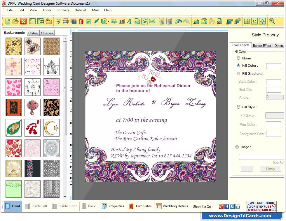 Kulasara 25 Awesome Invitation Design Maker