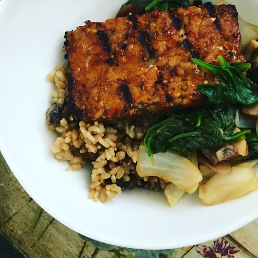 Sesame Teriyaki Tempeh, real world vegan style! - JL Goes Vegan