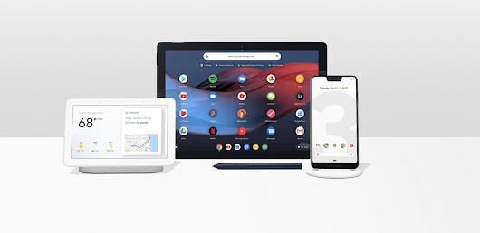 Google hardware. Designed to work better together.