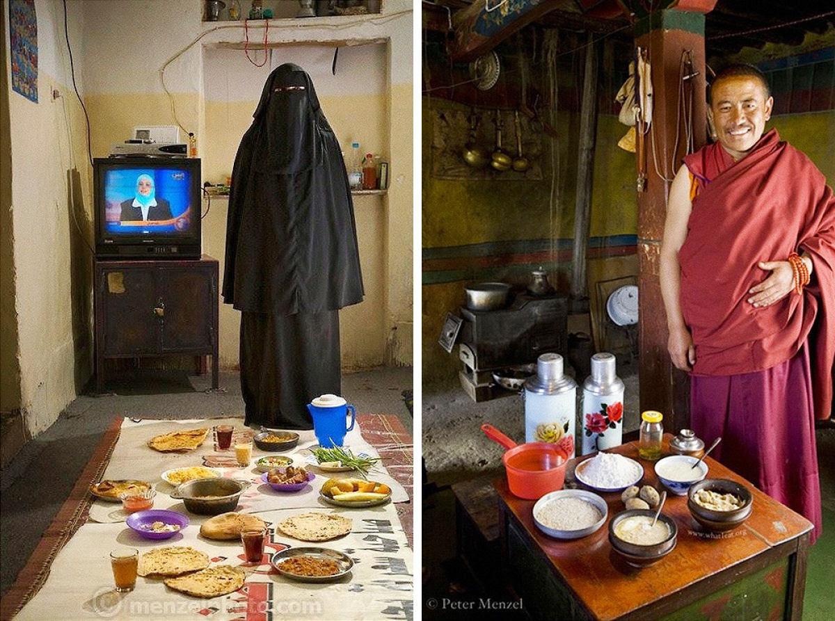 O que as pessoas comum comem nos diferentes países do mundo? 06