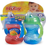 Nuby Clik-It Soft Spout Trainer Sippy Cup - 2 Pack, Size: 10 Ounce,
