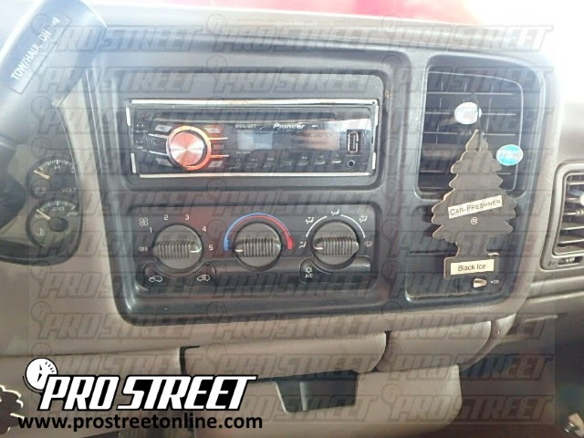 How To Chevy Tahoe Stereo Wiring Diagram My Pro Street