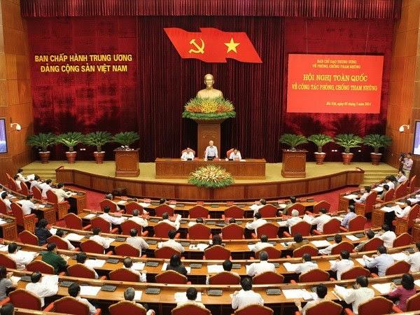 Chống tham nhũng ,  Nghị quyết Trung ương 3,  Kiểm toán, Hiến pháp, Công chức, Dư luận xã hội,  Tổ chức Đảng