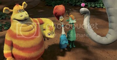 Lovely creatures from Horton Hears a Who!