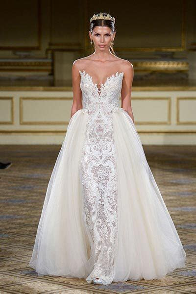 Top 10 Wedding Dresses With Detachable Skirts   BridalGuide