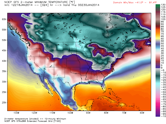 Polar vortex part two? Country faces another Arctic outbreak to end January