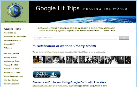 New Google Lit Trip Published! | Google Lit Trips: Reading About Reading
