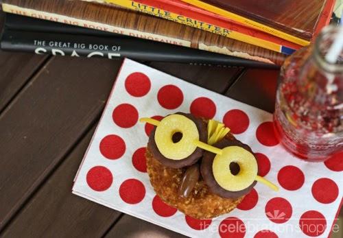 My Owl Barn Freebie Lunch Box Notes Owl Snack