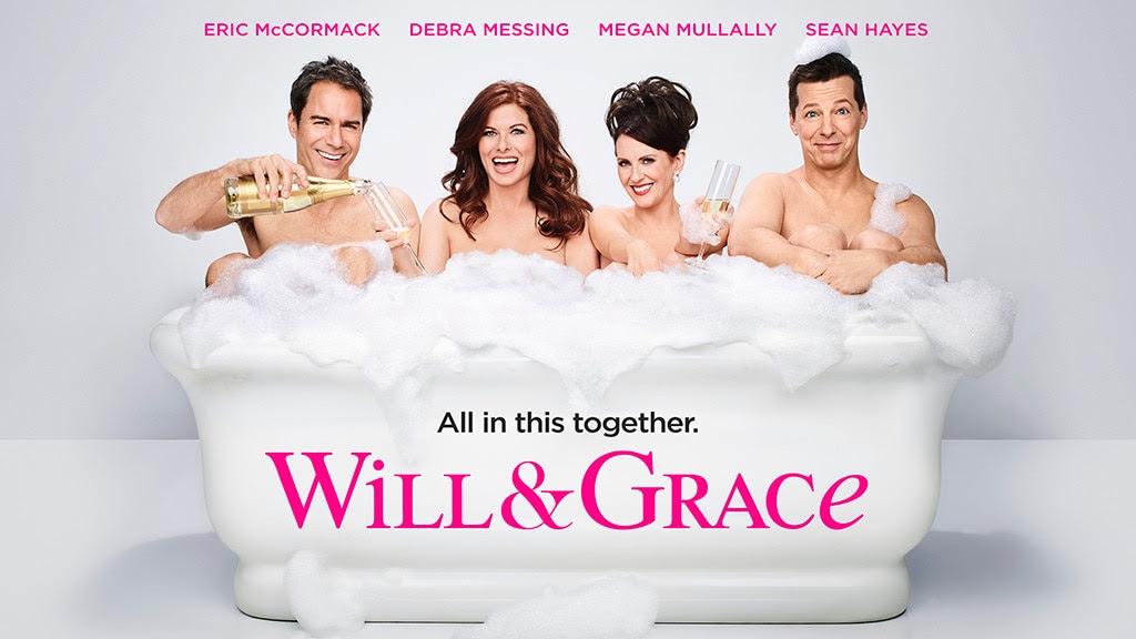 Resultado de imagem para Will & Grace new poster naked