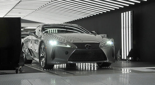 First Production Lexus LC Rolls Off Assembly Line in Japan