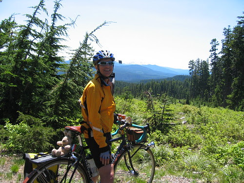 Cecil, with Mt Jefferson in the background