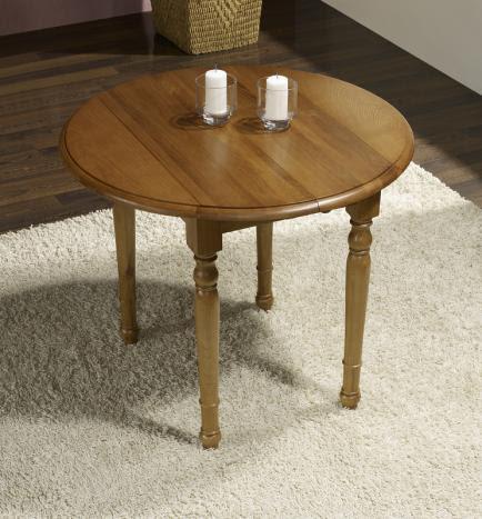 table et chaises de terrasse table ronde 90 cm diametre. Black Bedroom Furniture Sets. Home Design Ideas