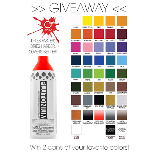 Win 2 cans of your favorite colors + more! #InstagramGiveaway