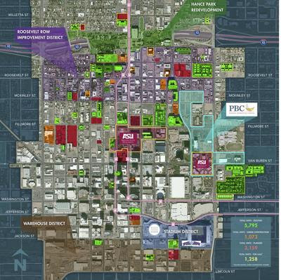 Downtown Phoenix's growing residential boom shown in new study, mapping - Phoenix Business Journal