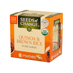 Seeds of Change Quinoa and Brown Rice with Garlic - 6 count, 8.5 oz Pouches