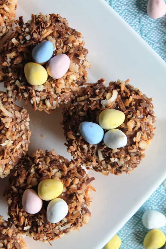 Toasted Coconut Bird's Nest Krispies Treats 2