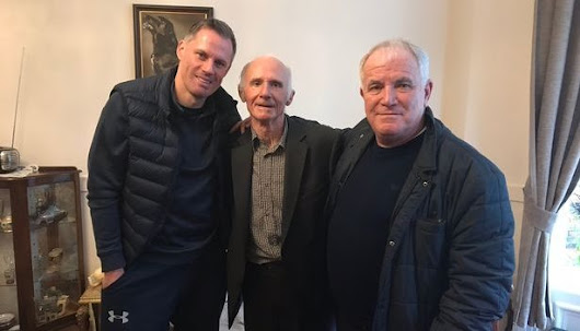 Resident Kenny Meets Old Mate Jamie Carragher | Cedars Care Group