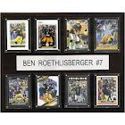 NFL Ben Roethlisberger Pittsburgh Steelers 8 Card Plaque