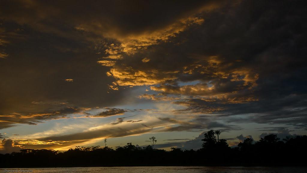 Amazon Sunset - Peru