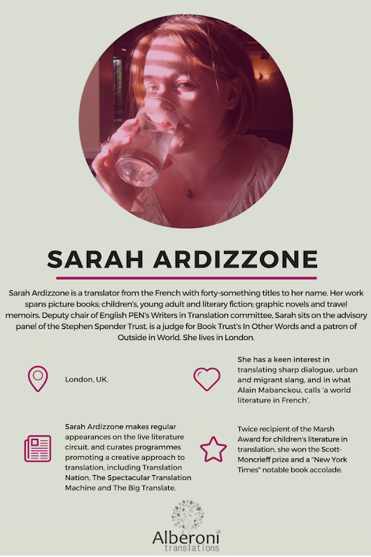 Greatest Women in Translation: Sarah Ardizzone