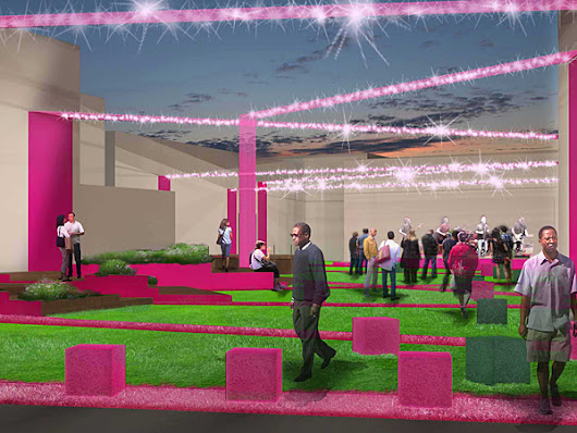 Frankford Pause: A hot-pink park is coming to Frankford