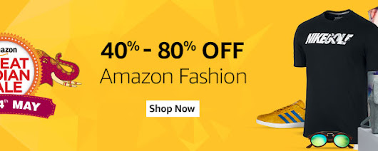 Amazon Great Indian Sale 2017 - Discount, Cashback & Offers on TV, Mobile, Electronics & Fashion | Shoeandfootwear