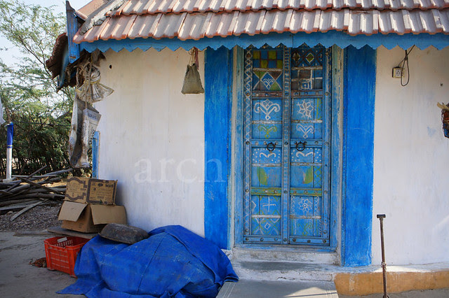 painted doors...