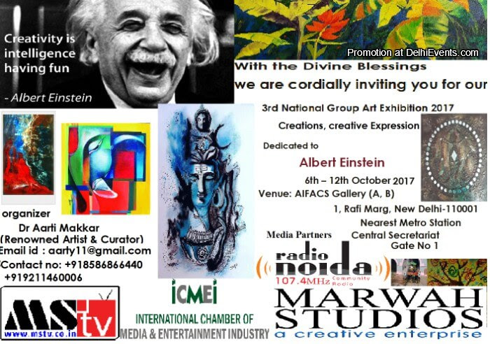 National Group Art Show  Dr. Aarti Makkar Creative