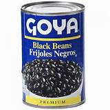 Black Beans In A Can Pictures