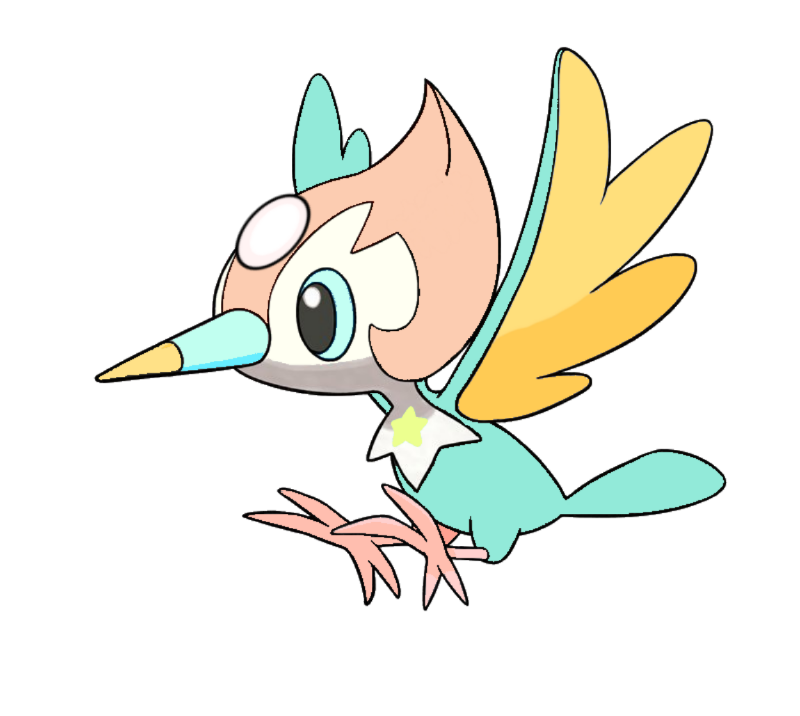 transparent pearl pikipek, because this small bird has flown it's way into my heart.