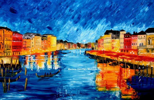 Venice painting cityscape paintings for sale original by malorcka