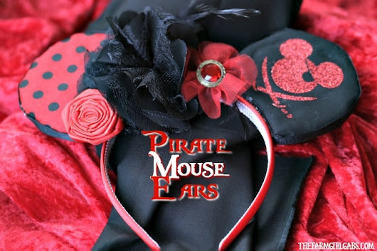 Pirate Mouse Ears - The Farm Girl Gabs® - Where Food, Fun And Farm Life Collide