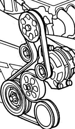 2006 Honda Accord Serpentine Belt Diagram : honda, accord, serpentine, diagram, Replace, Serpentine, Honda, Civic, FerisGraphics